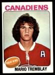1975 Topps #223  Mario Tremblay  Front Thumbnail
