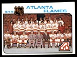 1975 Topps #85   Flames Team Checklist Front Thumbnail