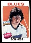 1975 Topps #264  Bob Hess  Front Thumbnail
