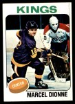 1975 Topps #140  Marcel Dionne   Front Thumbnail