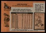 1975 Topps #234  Jim Pappin   Back Thumbnail