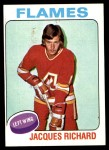 1975 Topps #117  Jacques Richard   Front Thumbnail