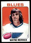 1975 Topps #228  Wayne Merrick   Front Thumbnail