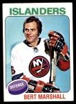 1975 Topps #72  Bert Marshall   Front Thumbnail