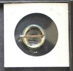 1964 Cranes Potato Chip Pin #10   Los Angeles Angels Back Thumbnail