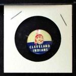 1968 Cranes Potato Chip Pin #6   Cleveland Indians Front Thumbnail