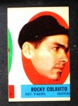 1963 Topps Peel-Offs  Rocky Colavito  Front Thumbnail