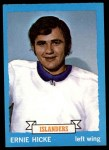 1973 Topps #18  Ernie Hicke   Front Thumbnail