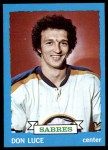 1973 Topps #38  Don Luce   Front Thumbnail