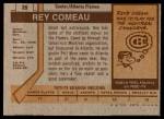 1973 Topps #29  Rey Comeau   Back Thumbnail