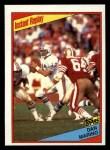 1984 Topps #124   -  Dan Marino In Action Front Thumbnail