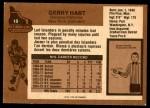 1975 O-Pee-Chee NHL #18  Gerry Hart  Back Thumbnail