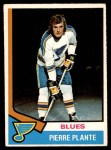 1974 O-Pee-Chee NHL #149  Pierre Plante  Front Thumbnail