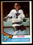 1974 O-Pee-Chee NHL #237  Garry Unger  Front Thumbnail