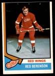 1974 O-Pee-Chee NHL #19  Red Berenson  Front Thumbnail