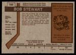 1973 O-Pee-Chee #188  Bob Stewart  Back Thumbnail