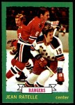 1973 O-Pee-Chee #141  Jean Ratelle  Front Thumbnail