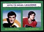 1973 O-Pee-Chee #133   -  Rick MacLeish Goals Leaders Front Thumbnail