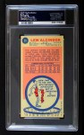 1969 Topps #25  Lew Alcindor  Back Thumbnail