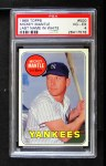 1969 Topps #500 WN Mickey Mantle  Front Thumbnail