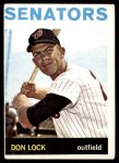 1964 Topps #114  Don Lock  Front Thumbnail