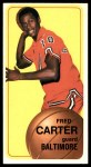 1970 Topps #129  Fred Carter   Front Thumbnail