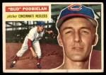 1956 Topps #224  Clarence 'Bud' Podbielan  Front Thumbnail