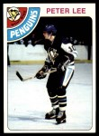 1978 Topps #244  Peter Lee  Front Thumbnail