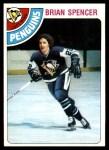 1978 Topps #137  Brian Spencer  Front Thumbnail