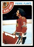 1978 Topps #179  Pierre Plante  Front Thumbnail