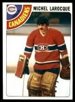 1978 Topps #158  Michel Larocque  Front Thumbnail