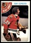 1978 Topps #250  Tony Esposito  Front Thumbnail