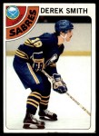 1978 Topps #222  Derek Smith  Front Thumbnail