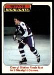 1978 Topps #4   -  Darryl Sittler Highlights Front Thumbnail