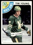 1978 Topps #138  Tim Young  Front Thumbnail