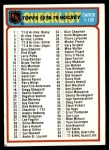 1978 Topps #24   Checklist 1-132 Front Thumbnail