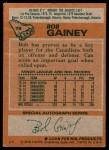 1978 Topps #76  Bob Gainey  Back Thumbnail