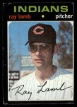 1971 Topps #727  Ray Lamb  Front Thumbnail