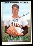 1967 Topps #46  Lindy McDaniel  Front Thumbnail