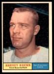1961 Topps #500  Harvey Kuenn  Front Thumbnail