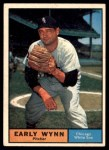 1961 Topps #455  Early Wynn  Front Thumbnail