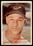 1957 Topps #184  Tito Francona  Front Thumbnail
