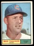 1961 Topps #12  Moe Thacker  Front Thumbnail