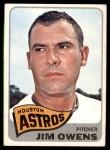 1965 Topps #451  Jim Owens  Front Thumbnail