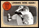 1968 Topps #155 A  -  Jim Lonborg 1967 World Series - Game #5 - Lonborg Wins Again! Front Thumbnail