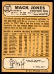 1968 Topps #353  Mack Jones  Back Thumbnail