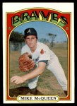 1972 Topps #214  Mike McQueen  Front Thumbnail