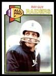 1979 Topps #50  Ray Guy  Front Thumbnail