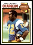 1979 Topps #122  James Harris  Front Thumbnail