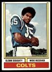 1974 Topps #411  Glenn Doughty  Front Thumbnail